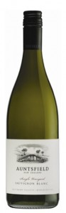 Auntsfield Single Vineyard Sauvignon Blanc 2012