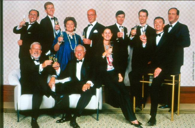 Gruppenfoto der Primum Familiae Vini