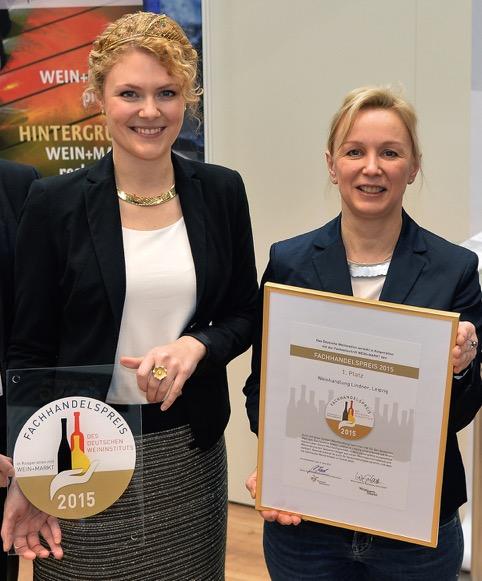 Janina Huhn und Evelyn Lindner